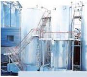 Passerelle sur cuveries sur-mesure - Toutes configurations sur demande - En aluminium