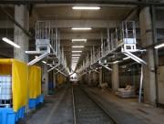 Passerelle suspendue accès toiture de train - 2 passerelles suspendues de 90 mètres chacune - Clé en main