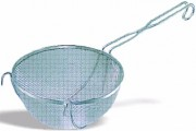 Passoire ronde inox - Diamètres (cm) : de 13 à 25