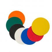Pastilles adhésives marquage au sol - Epaisseur : 0.16 mm x Diametre : 100 mm