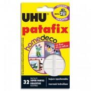 PATAFIX Etui de 32 pastilles blanche Home Déco résistance 2kg - Uhu