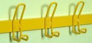 Patère pour banc vestiaire - Longueur : 150 cm