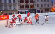 Patinoire de hockey sur glace artificielle  - Glace synthétique pour une parfaite adhérence de patinage