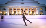 Patinoire synthétique pour patinage artistique - Patinoires à glace artificielle pour figures et glisse