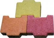 Pavé autobloquant pour trottoirs - Dimensions (L x l x Ep) : 20 x 14.5 x 6 (ou 8) cm