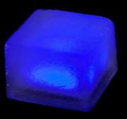 Pavé lumineux multicolore carré 100 x 100 - Matériau : Verre borosilicate - Très faible consommation