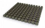 Pavés carrés en bois - Dimensions : 1 m2