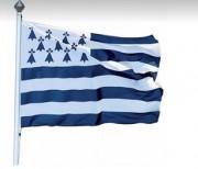 Pavillons et drapeaux des régions françaises - Dimensions (cm): 80x120 - 100x150 - 120x180 - 150x225 - 200x300