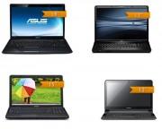 PC portable bureautique - Dell - Lenovo - Asus - HP - Taille écran : 10,2