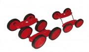 Pédalo à roues - 2 versions disponibles : 4 - 6 roues