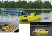 Pédalos en polyéthylène rotomoulé - Capacité : 2 ou 5 places assises