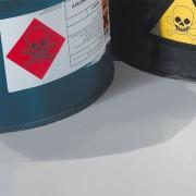 Peinture de sol anti acide - Résistance : 98 % de concentration d'acide sulfurique