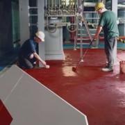 Peinture de sol antidérapante industrielle - Surface anti-poussière et sécurisée