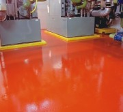 Peinture de sol époxy pour Intérieur - Surface dure, brillante et facile à nettoyer