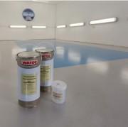 Peinture de sol métallisée - Donne un effet métal à votre sol béton
