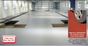 Peinture de sol monocomposante - Applications intérieur