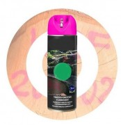 Peinture forestière fluorescente - Volume : 500 ml - Peinture fluorescente et très fluorescente