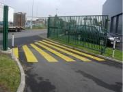 Peinture marquage au sol - Peinture de Signalisation Portail Automatique