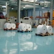 Peinture pour la protection sols industriels - Couvrant moyen à la couche : 5 kg = 20m²