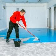 Peinture sol à séchage rapide - À base résine polyaspartique