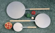 Pelle à pizzas - Dimensions (Ø x L) mm : 203 x 510 - 343 x 890 - 406 x 950