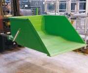 Pelle chargeuse 400 kg - Capacité : 250 Litres  -  Finition : Laqué vert ou galvanisé
