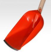 Pelle pour détritus - Acier - couleur orange