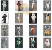 Peluches Mascottes Série A - Volume plié : 1m3