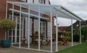 Pergola de jardin 3x3 - Dimensions : 264.5 x 3.4 x 289 cm
