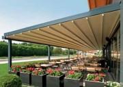 Pergola de terrasse - Largeur (mm) : de 5000 à 13000