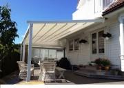 Pergola pour terrasse - Fabriquée en aluminium ou en acier