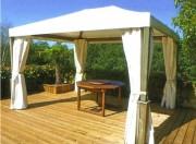 Pergola pour terrasse poteaux 90 x 90 mm - Poteaux 90 x 90 mm