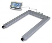 Pèse palettes avec support de charge - Portée : 600 kg - 0.2 kg précision