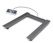 Pèse palettes inox - Portée maximale (kg) : 600 - 1500