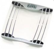 Pèse personne électronique avec capteurs - Portée : 150 kg - Dimensions 30.4 x 31.7 x 4.9 cm