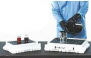 Petit bac de rétention pour paillasse - Capacité de rétention : 6,5 ou 11 Litres