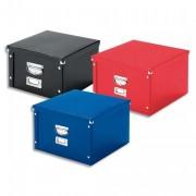 Petite boite de rangement Snap et Store noire, dimensions 290x290 mm - Esselte
