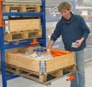 Picking sur palette extraite - Tiroir pour préparation de commandes