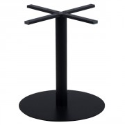 Pied de table à base ultra plate - Hauteur  : 72 cm