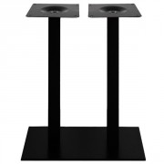 Pied de table haute mange debout - Acier - Hauteur : 108 cm