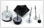 Pieds de machines Nivelastic à Fréquence propre de 50 - 6 Hz - Support antivibratoire de gamme 7