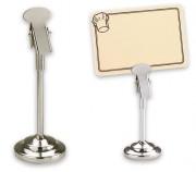 Pieds portes étiquettes métalliques - Diamètre: 4 cm