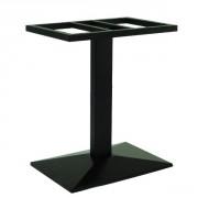 Piètement base pyramidale en acier - Hauteur : 72 cm