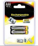 Pile rechargeable 1.2V - 4 modèles différents