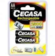 Pile rechargeable 1.2v 2300mah - Taille : 14.5 x 50 mm