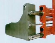 Pince à balles de cellulose en acier soudé - Corps de pince en acier soudé