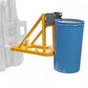 Pince enfourchable pour fût en métal - En acier inoxydable ou en acier peint - Capacité de charge : 1600 kg