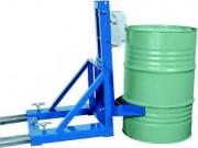 Pince à fûts 200 litres avec rebord - Charge admissible 360 kg / fut