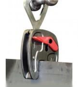 Pince à tôles avec anneau - Charge maximale utile (kg) : 750 - 1000