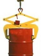 Pince automatique pour levage de fûts acier verticaux 300 Kg - Charge maximale utile (kg) : 300
